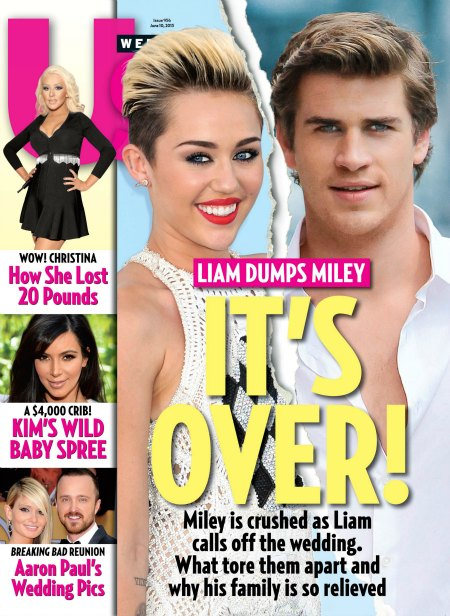Miley Cyrus Dumped By Liam Hemsworth - Is Jennifer Lawrence To Blame?
