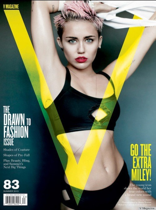 "Miley Cyrus Underboob Pic – New Trend or Same Old ""Sex Sells"" (PHOTOS)"