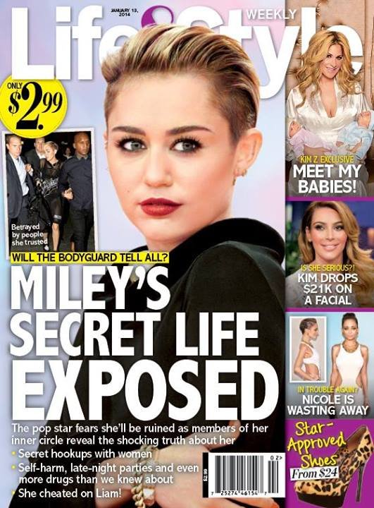 Miley Cyrus' Secret Life Exposed: Her Bisexual Conquests, Out-of-Control Drug Use and Endless Partying All Revealed! (PHOTO)