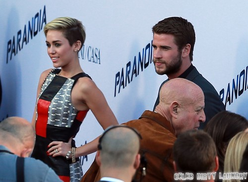 Miley Cyrus And Liam Hesmworth To Reunite In London At Catching Fire Premiere