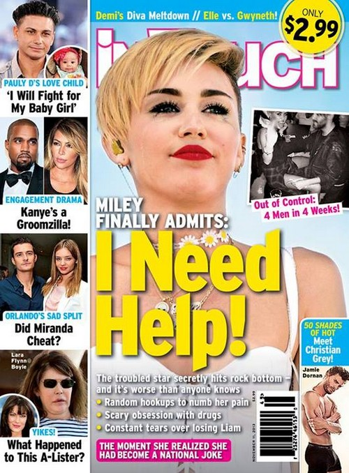 Miley Cyrus Drug Use Out of Control: Admits She Needs Rehab (PHOTOS)