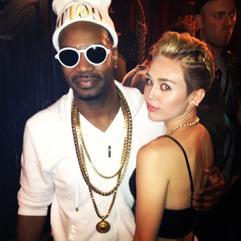 Miley Cyrus Topless on MTV - That's The Plan!