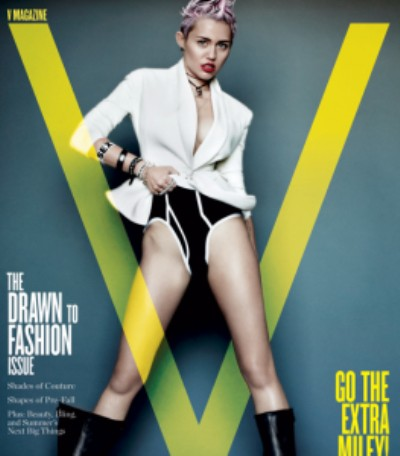 Miley Cyrus Naked, Topless Pics In Magazine Spread - Too Vulgar Or Good For Her? (Photos) 0501
