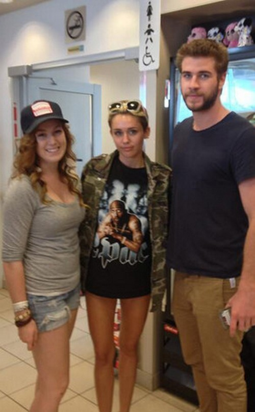 Miley Cyrus and Liam Hemsworth Reunite In Canada - Engagment Back On! (Photos)