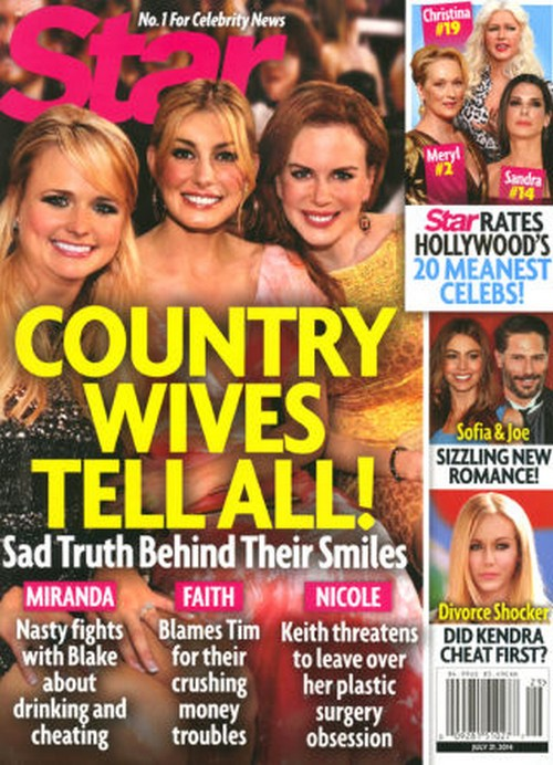 Faith Hill Gives Miranda Lambert Divorce Advice: Saves Blake Shelton Marriage Using Tim McGraw Example