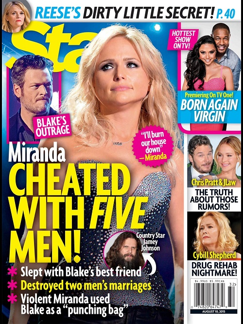 Miranda Lambert Cheated With Five Different Men - Employees, Blake Shelton's BFF, And Baseball Player Josh Beckett!