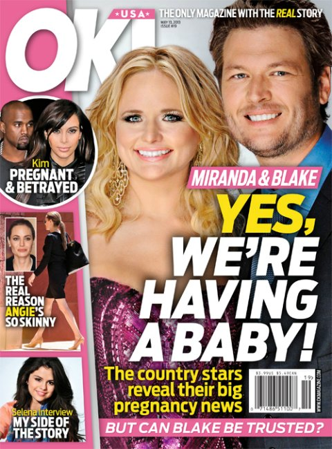 Miranda Lambert Pregnant - Blake Shelton Cheating