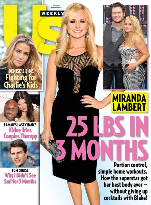 Miranda Lambert Massive Weight Loss, Loses 25 Pounds In Three Months (PHOTO)