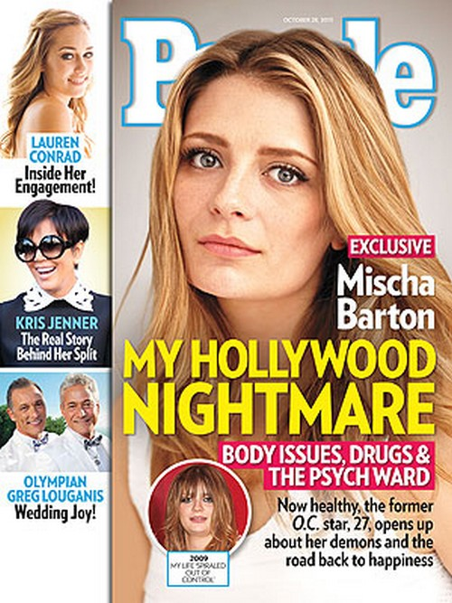 Mischa Barton's Mental Breakdown Explained - Drug Alcohol, Abuse and Suicide Attempt (Photo)