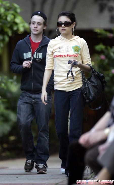 Ashton Kutcher Will Leave Mila Kunis Because She's Too Fat