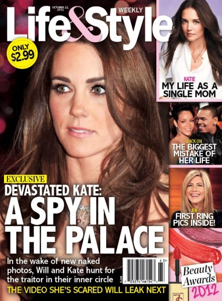 Who's The Mole? Kate Middleton Devastated By Spy In Inner Circle 1010