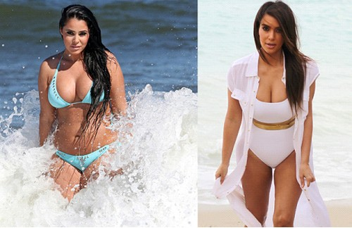 Myla Sinanaj's Kim Kardashian Plastic Surgery Makeover: Plans Sex Tape With Ray J (PHOTO)