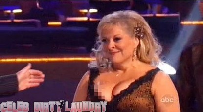 Nancy Grace Denies Nipple Slip On Dancing With The Stars