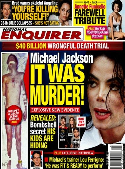 Michael Jackson Murdered - Paris, Prince & Blanket Give Explosive New Evidence (Photo)