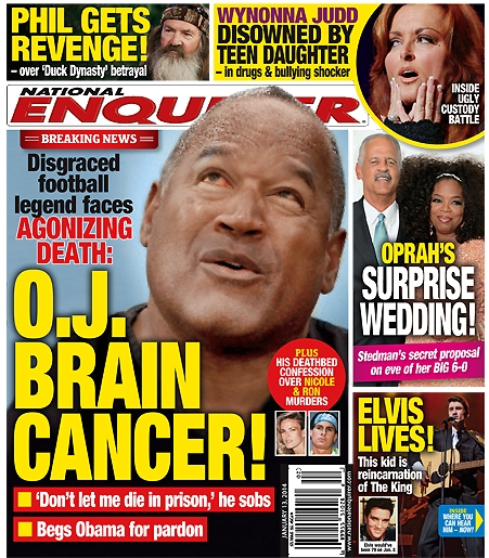 OJ Simpson Battles Fatal Brain Cancer, Faces Agonizing Death (PHOTO)