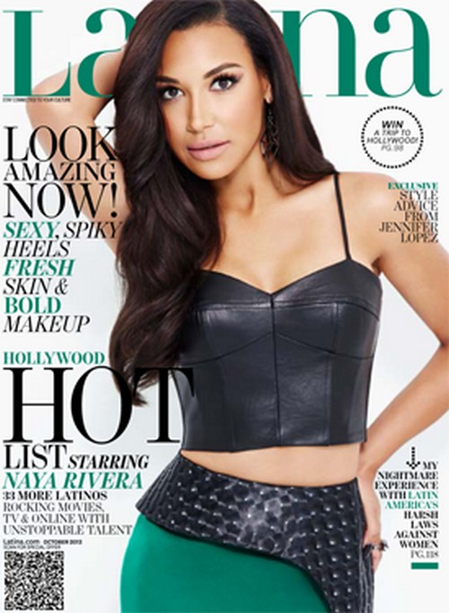 Naya Rivera is Demi Lovato's Glee Lover - Misses Cory Monteith, But Wants To Be Jennifer Lopez (Photo - Video)