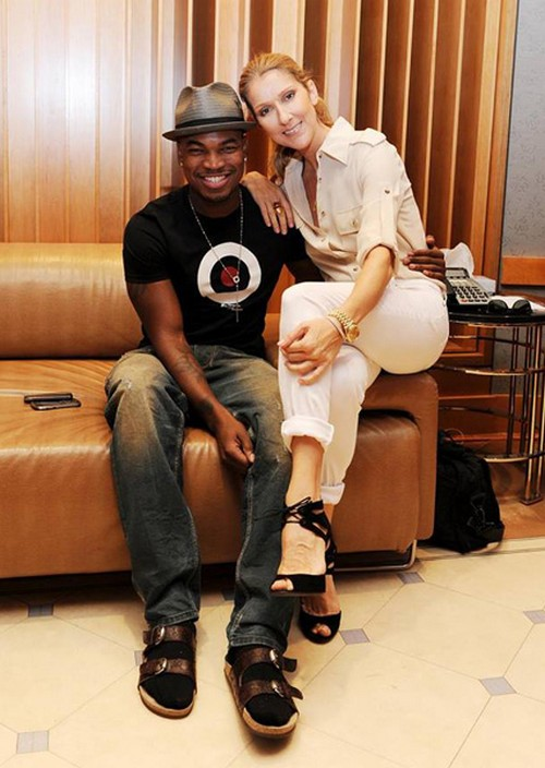 Celine Dion and Ne-Yo Hooking Up - Is Celine Cheating on Rene Angelil With Him? (PHOTOS - VIDEO)