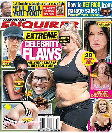 National Enquirer | Celeb Dirty Laundry