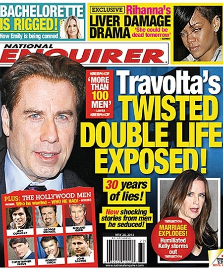 John Travolta's Marriage Explodes: Humiliated Kelly Preston Storms Out (Photo)