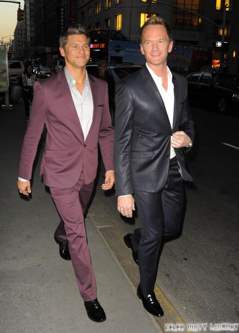 Neil Patrick Harris: Butt Squeeze By Elton John's Husband, David Furnish