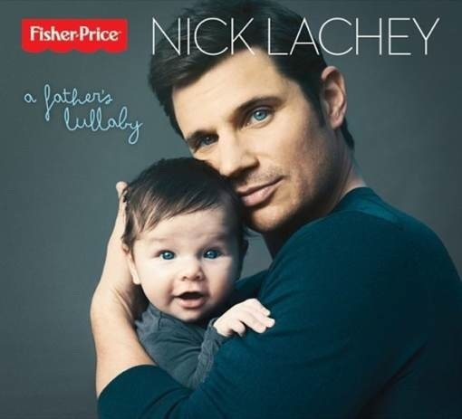 Nick Lachey Poses on New Album Cover With Son Camden