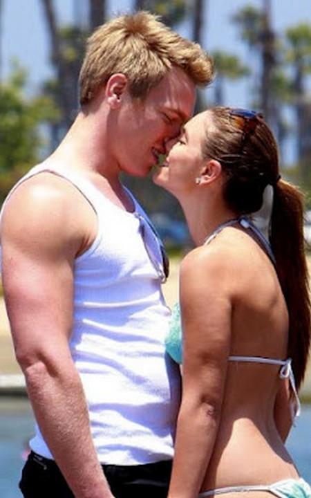 Nick Gruber: Calvin Klein's Former Boyfriend Caught Kissing A Woman