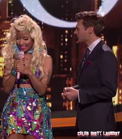 Nicki Minaj Performs 'Starships' On AMERICAN IDOL, Plus She Offers To Be A Guest Judge -- J-Lo Says 'There's No Room' For Her! (Video)