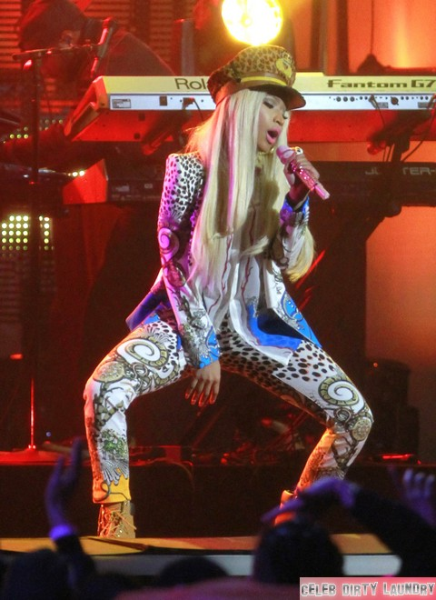 American Idol Drug Scandal: Nicki Minaj Smokes Weed In Her Trailer
