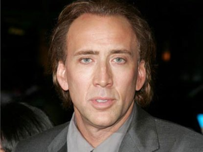 nicolas cage and wife. Nicolas Cage is officially in