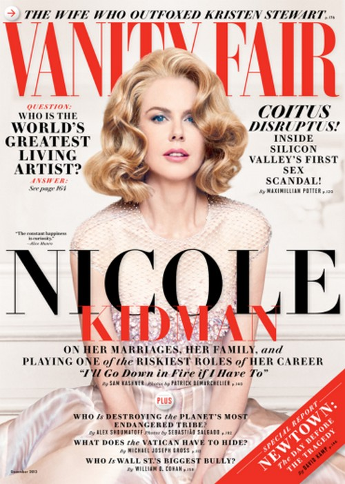 Nicole Kidman Dishes on Brad Pitt and Angelina Jolie's Intoxicating Relationship To Vanity Fair