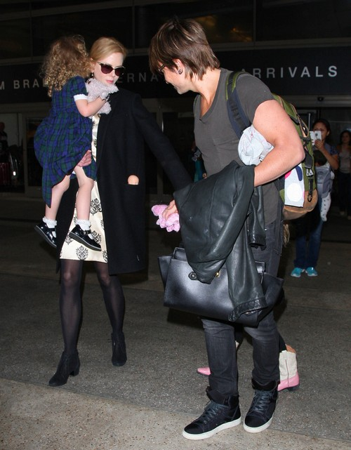 Keith Urban Divorce: Nicole Kidman and Kids Coming On Tour Cause Split - Rumors (PHOTOS)