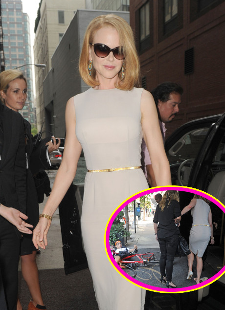 Nicole Kidman Knocked Down By Carl Wu On Bicycle: Pressing Charges Against Paparazzo (PHOTO)