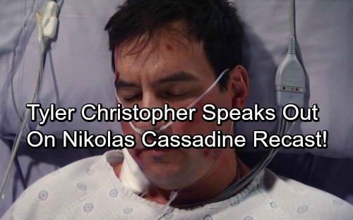 General Hospital Spoilers: Tyler Christopher Speaks Out On Nikolas Cassadine Recast