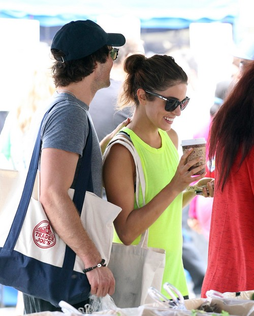 'Vampire Diaries' Ian Somerhalder and 'Twilight' Nikki Reed Dating With PDA In California: Official New Couple Alert (PHOTOS)