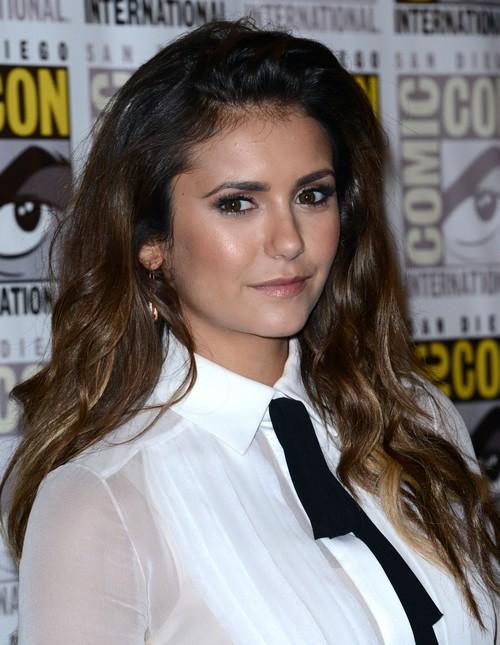 Nina Dobrev Hates Ian Somerhalder For Dating Nikki Reed: Vampire Diaries' Ex-Lovers' Tension Evident at Comic Con? (PHOTOS)
