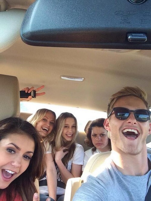 Nina Dobrev and Dominic Howard Her New Boyfriend - Ian Somerhalder Dropped for Muse Singer - What About Alexander Ludwig? (PHOTOS)