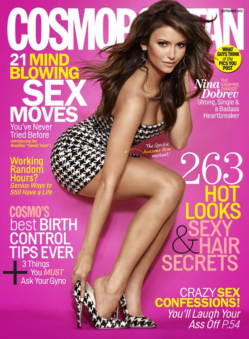 Nina Dobrev Disses Ian Somerhalder: Discusses Breakup and Relationships (Photo)