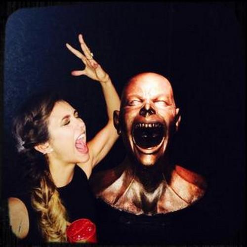 Ian Somerhalder and Nina Dobrev Tease Dead Damon Vampire Diaries Season 6 Spoilers