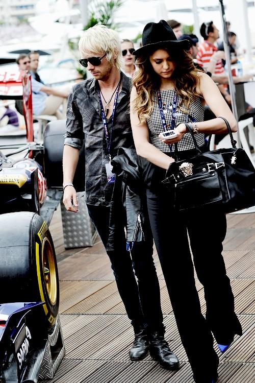 Nina Dobrev Hooking-Up With Dominic Howard NOT James Marsden - 'Muse' Rockstar Replaces Ian Somerhalder?