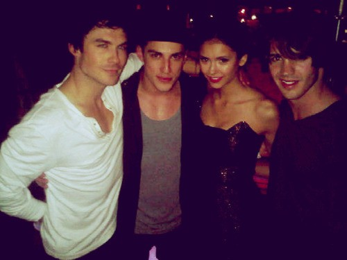 Ian Somerhalder - Nina Dobrev Vampire Diaries Feud: Michael Trevino Warned To Stay Away After Jenna Ushkowitz Split