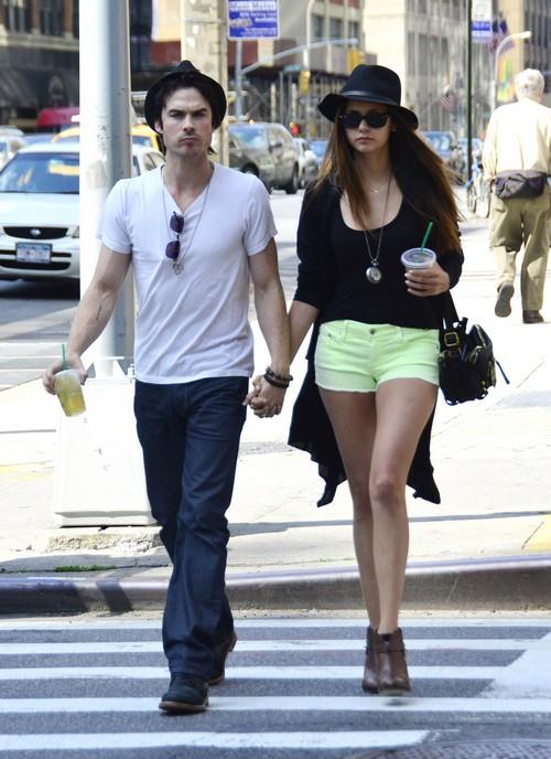 Nina Dobrev Afraid To Date Ian Somerhalder Again - Fears He Will Cheat and Break Her Heart
