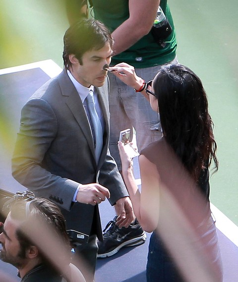 Nina Dobrev is Sick but Ian Somerhalder is Not Getting Her Through It! (Photos)