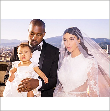 Kim Kardashian and Kanye West Ditch North West AGAIN - All They Do Is IgNori Her! (PHOTO)