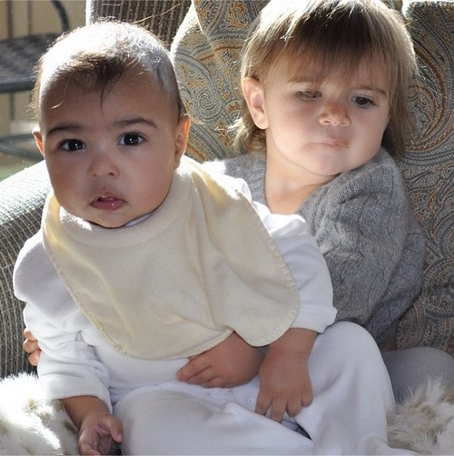Kim Kardashian Blocks Out North West in New Instagram Pic: Does She Think Nori Too Ugly to Show? (PHOTO)