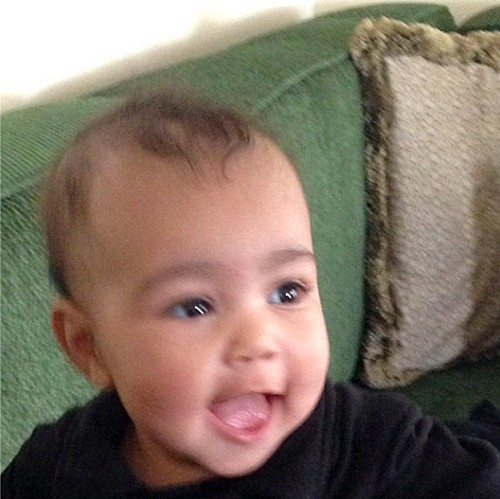 North West New Pics With Riccardo Tisci, Kim Kardashian's Stylist and Kanye West's Boyfriend (PHOTOS)