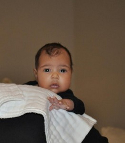 Kanye West Shows North West's First Picture On Kris Jenner's Talk Show - Kim Kardashian So Proud! (PHOTO)