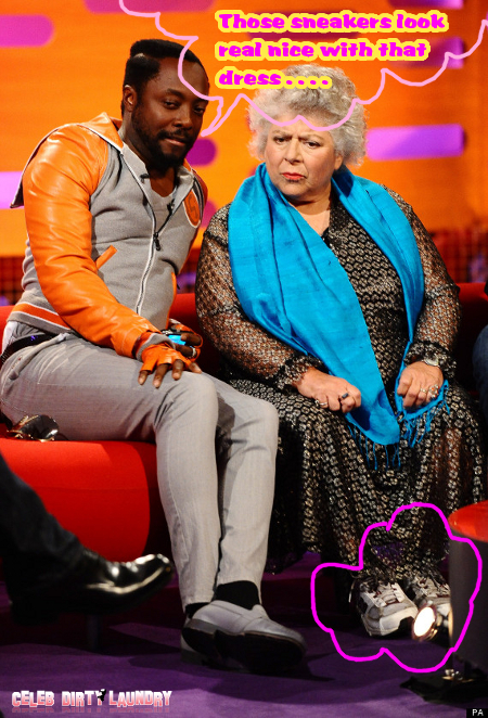 Will.I.Am Baffled by 'Harry Potter' Actress Miriam Margolyes's Shocking Racist Comment