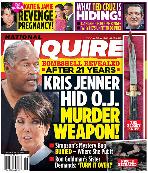 Robert Kardashian Used Kris Jenner to Hide O.J. Simpson's Briefcase Loaded With Murder Weapon?