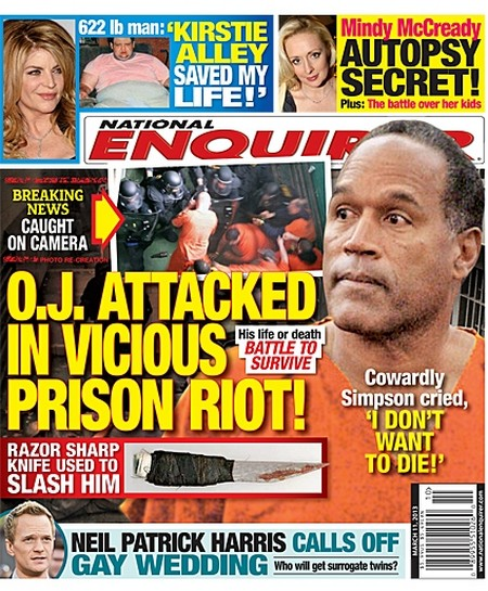 O.J. Simpson Prison Riot Report: Attacked and Beaten – Stabbed With Shiv – Begs For His Life! (Video)