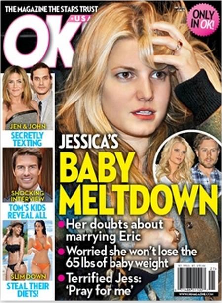 Jessica Simpson's Baby Meltdown (Photo)